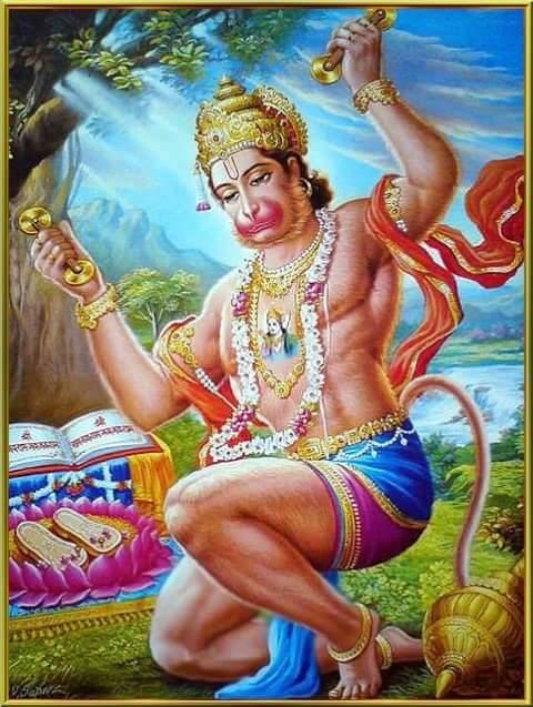 Shri Balaji Hanuman Gayatri mantra